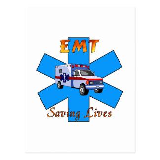 Salvares vidas de EMT Postales