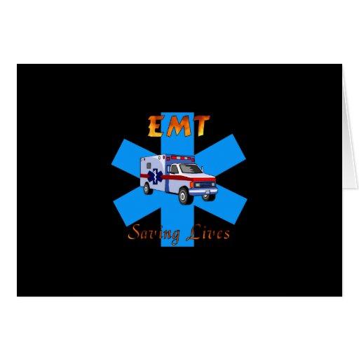 Salvares vidas de EMT Tarjeta Pequeña