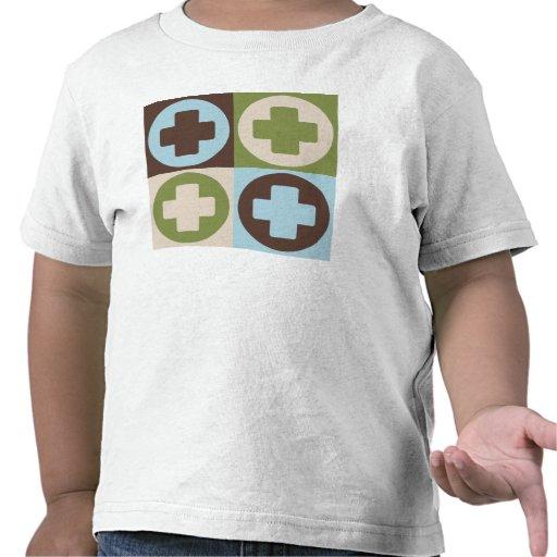 Salvares vidas del arte pop camiseta