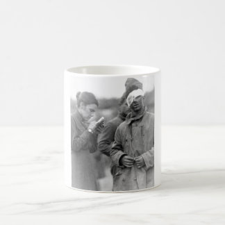 Salvation Army worker writing a le to _War image Coffee Mug