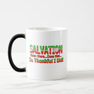Salvation Been There Done That So Thankful mug