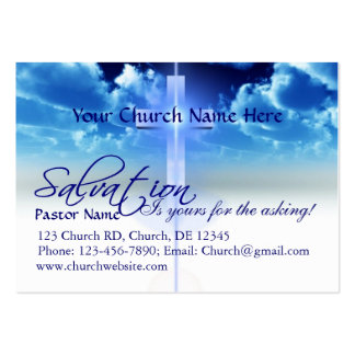 Salvation Card: Yours For the Asking Business Cards