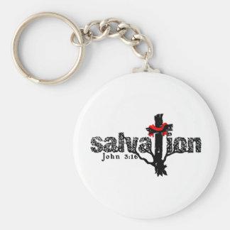 Salvation John 3:16 Christian Keychain