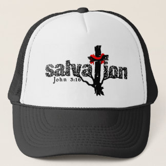 Salvation John 3:16 Christian Trucker Hat