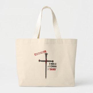 Salvation Math Large Tote Bag