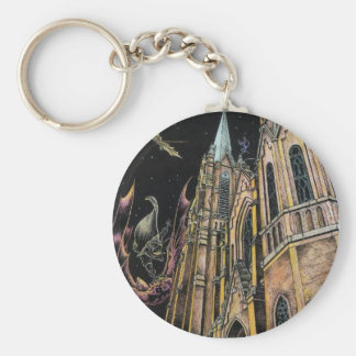 Salvation of St. A's Basic Round Button Keychain