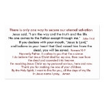 Salvation Thus Heaven 2 Double-Sided Standard Business Cards (Pack Of 100)