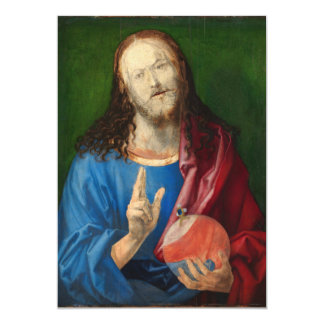 Salvator Mundi by Albrecht Durer Card