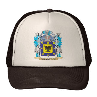 Salvatore Coat of Arms - Family Crest Trucker Hat