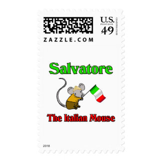 Salvatore The Italian Mouse Postage