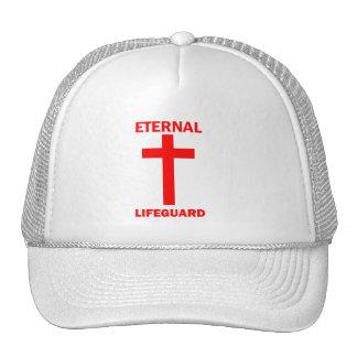 Salvavidas eterno gorros bordados