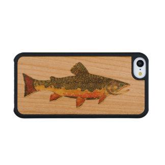 Salvelinus Fontinalis Carved® Cherry iPhone 5C Case