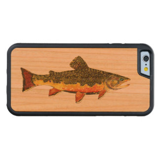 Salvelinus Fontinalis Carved® Cherry iPhone 6 Bumper Case