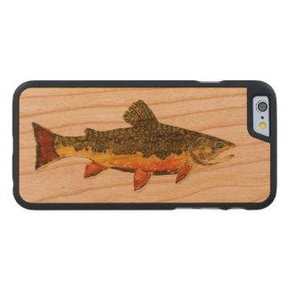 Salvelinus Fontinalis Carved® Cherry iPhone 6 Slim Case