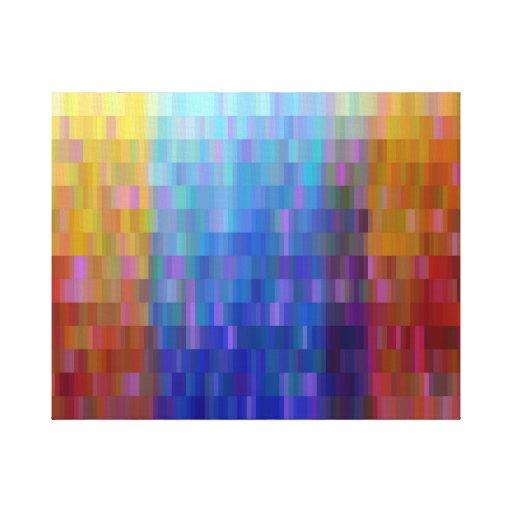 Salvo un arco iris impresiones en lienzo estiradas