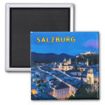 Salzburg 001C Imán Cuadrado