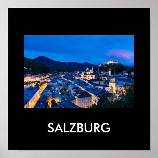 Salzburg 001W Póster