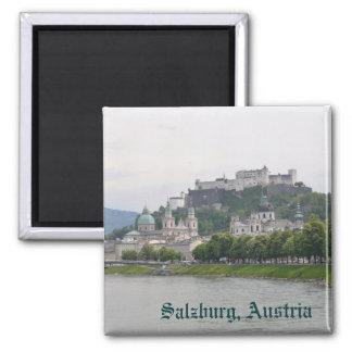 Salzburg, Austria 2 Inch Square Magnet
