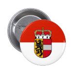 Salzburg, Austria flag Button