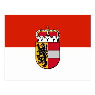 Salzburg, Austria flag Postcard