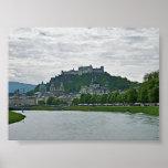 Salzburg, Austria, impresión de la fortaleza de Ho Impresiones