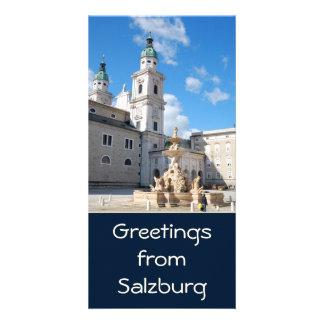 Salzburg, Austria Photo Card