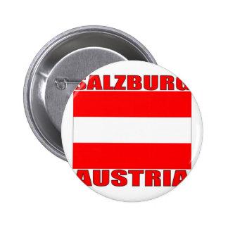 Salzburg, Austria Pinback Button