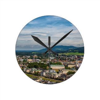 salzburg, Austria Round Clock