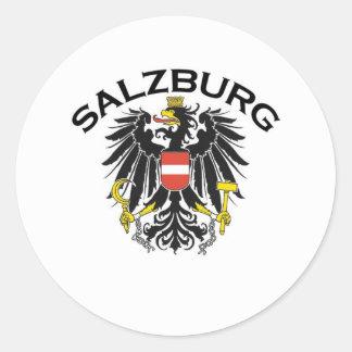 Salzburg, Austria Classic Round Sticker