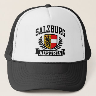 Salzburg Austria Trucker Hat