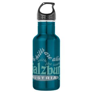 Salzburg Botella De Agua De Acero Inoxidable