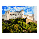 Salzburg castle postcards