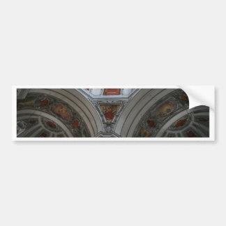 Salzburg Cathedral Bumper Sticker