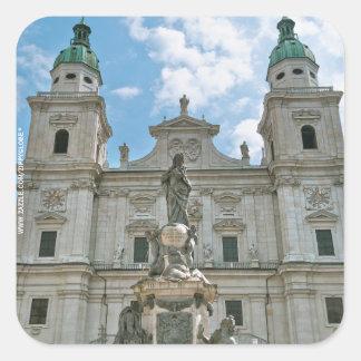 Salzburg Cathedral Sticker