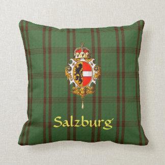 Salzburg Coat of Arms Throw Pillow