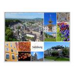 Salzburg Collage Post Card
