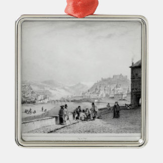 Salzburg, engraved by Bayot & Cuvilier, 1840 Ornament
