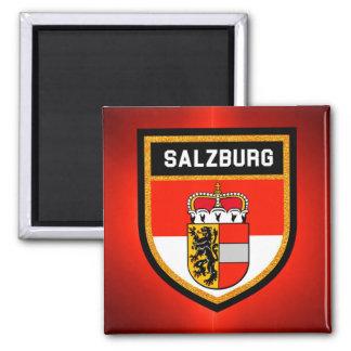 Salzburg Flag Magnet