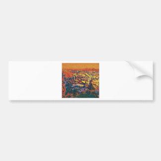Salzburg In Art Bumper Sticker