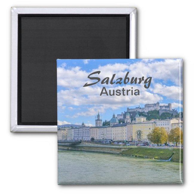Salzburg in Austria Souvenir Magnet