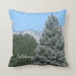 salzburg, landscape throw pillows
