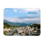 Salzburg Rectangle Magnet