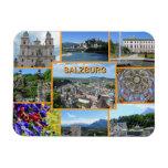 Salzburg Rectangular Photo Magnet