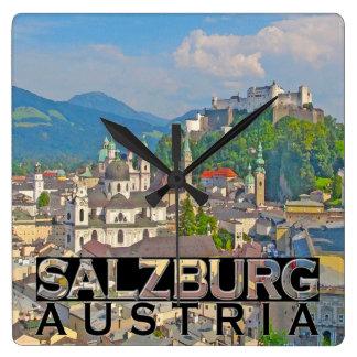 Salzburg Square Wall Clock