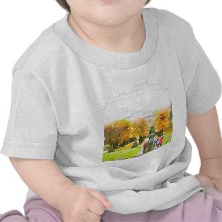 salzburg, watercolor t-shirt