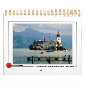 Salzkammer tradicional calendarios de pared