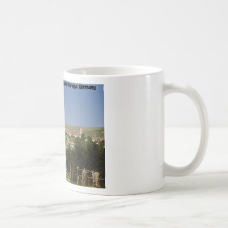 Salzungen with the castle, from Seeberg, Thuringia Coffee Mug