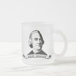 Sam Adams Frosted Glass Coffee Mug