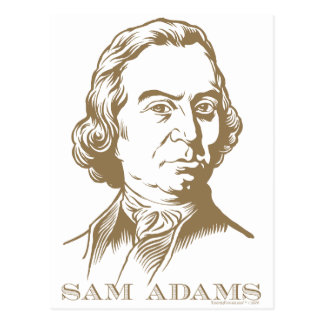 Sam Adams Postcard