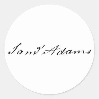 Sam Adams Signature Classic Round Sticker